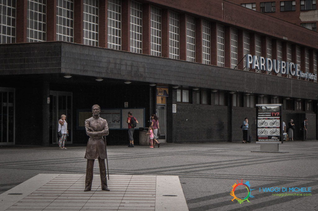 Esterno stazione di Pardubice