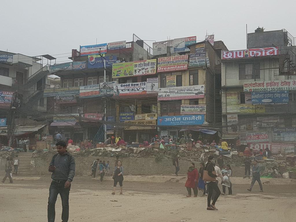 Kathmandu fuori dai luoghi turistici