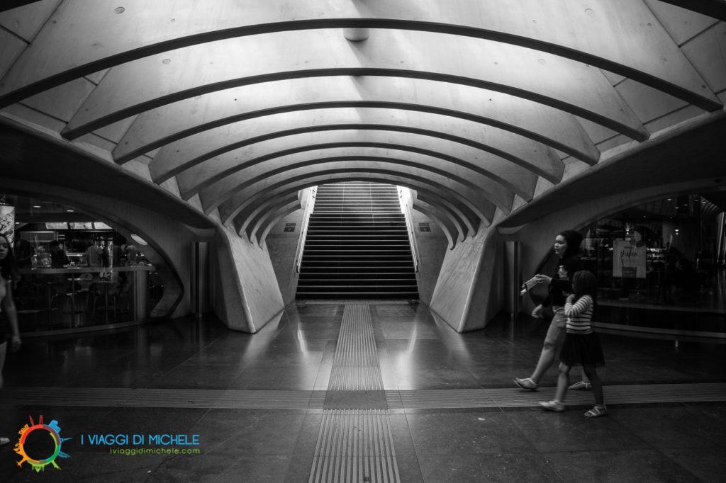 Interno stazione Calatrava