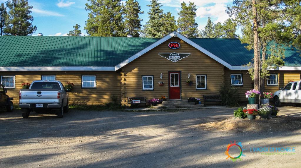 Parcheggio Air Force Lodge - Yukon - Come prenotare un hotel