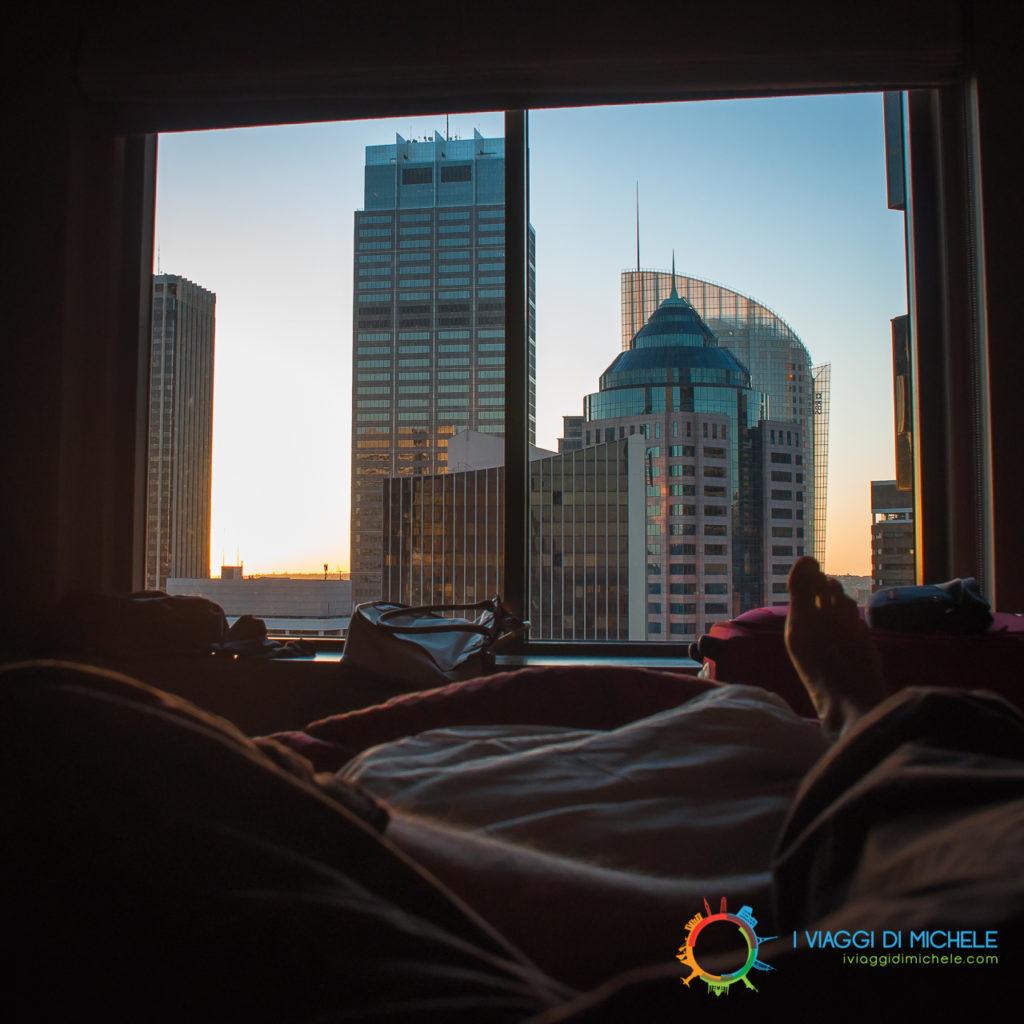 La vista dal mio hotel a Sydney