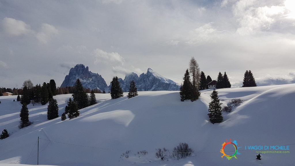 Il Panorama dai sentieri dell'Alpe di Siusi