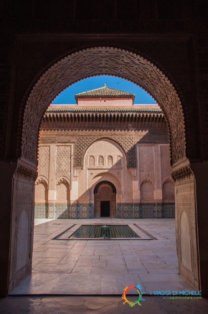 Marrakech - La Medersa, scuola Coranica