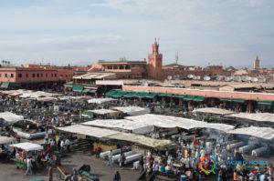 Marrakech - Djemaa el Fnaa
