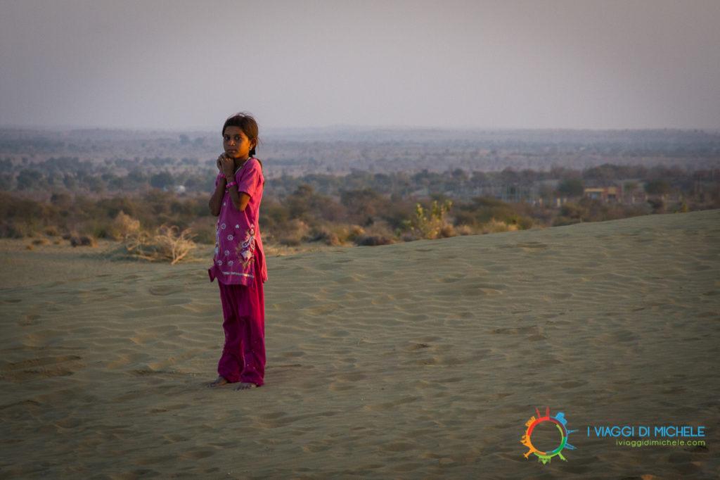 Luce giusta per un momento indimenticabile - Deserto del Thar - Rajasthan