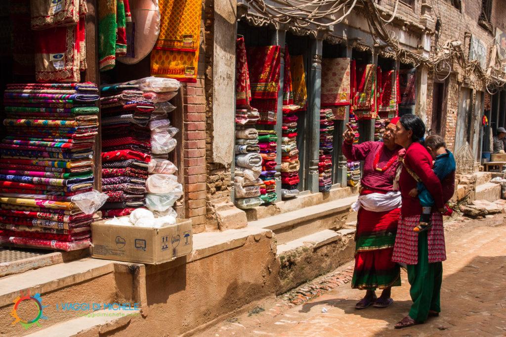 Attività commerciali in Bhaktapur
