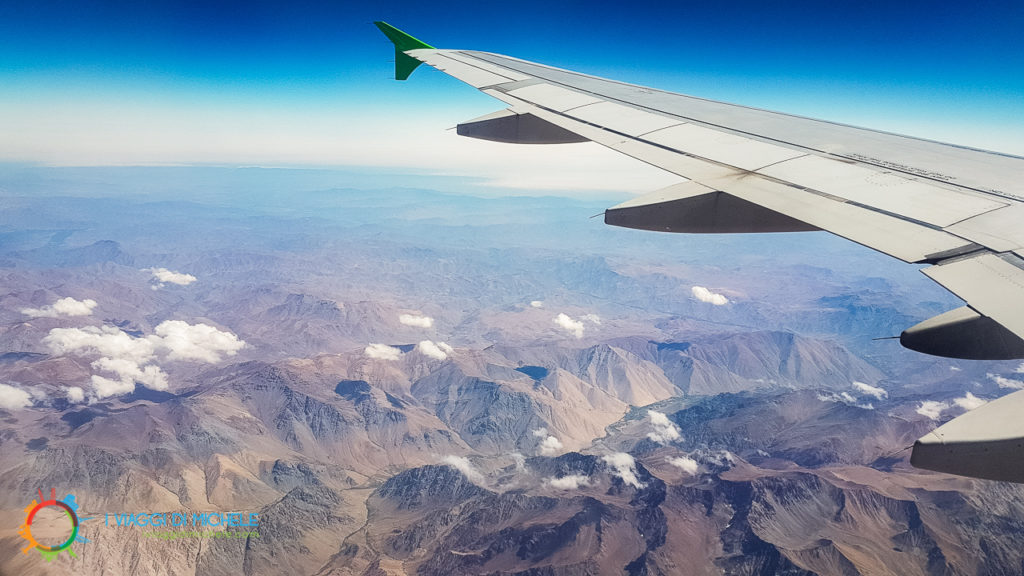 In volo sul Deserto di Atacama