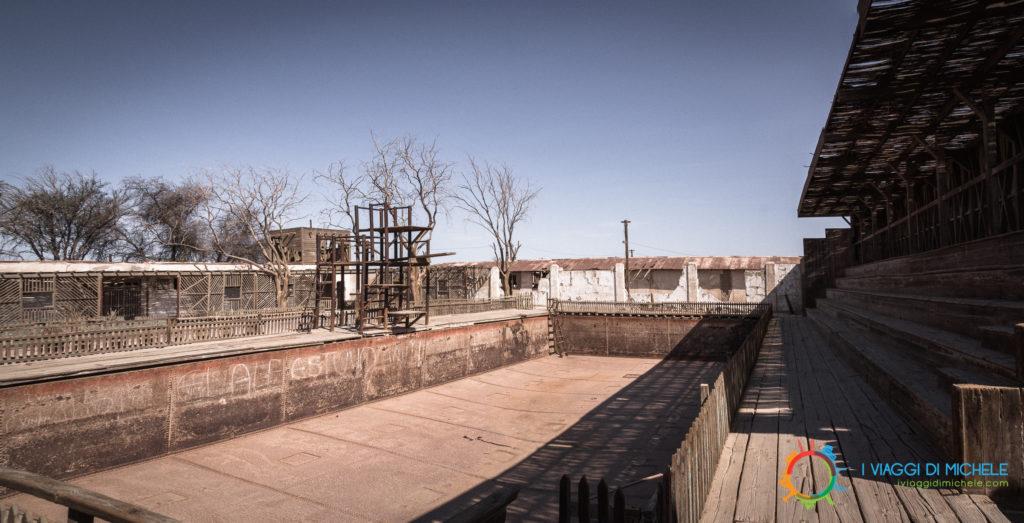 La piscina di Humberstone Iquique